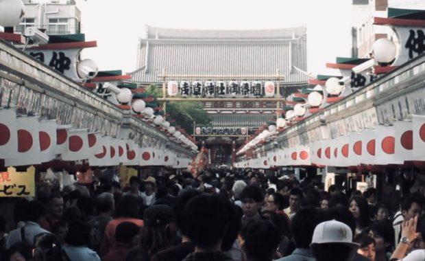 crowded Asakusa